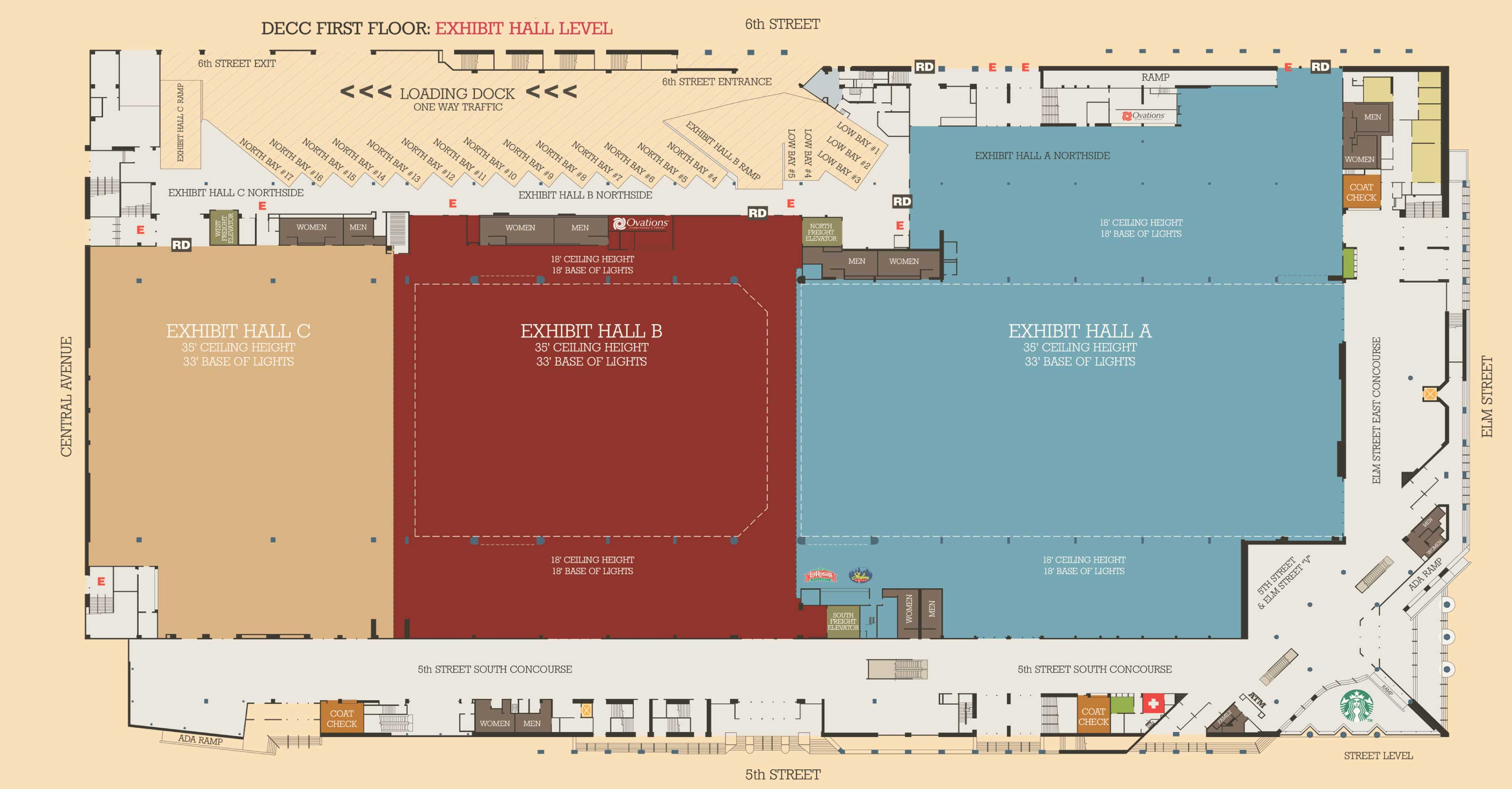 Floor plans iaff 52nd convention for At floor or on floor
